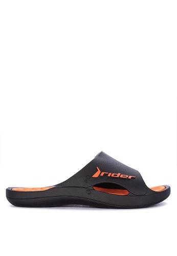Rider black and orange Bay VIII Ad Slides 574C1SH59F34C4GS_1
