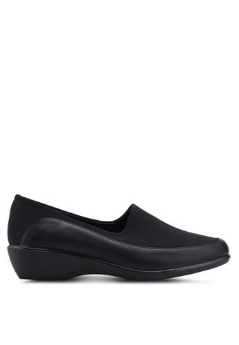 Noveni 黑色 舒適楔型鞋 AAAE9SH60C2B7EGS_1