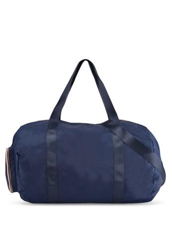 Rubi blue Istanbul Foldable Duffle Bag 908F6AC45272B3GS_1
