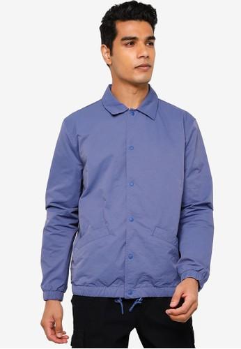 Gap blue Nylon Coach Jacket 1A44AAA0ABA8AFGS_1