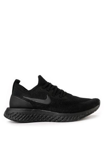 Nike black Nike Epic React Flyknit Shoes C29F1SHE2A22EFGS_1