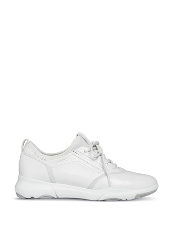 Geox white Nebula S Sneaker 8D15BSHBD43554GS_1
