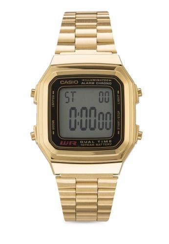 Casio gold Casio Men's Gold Stainless Steel Strap Watch A178WGA-1ADF CA843AC33XJQMY_1