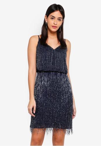 64660514ef Buy Lace   Beads Manderin Dress Online on ZALORA Singapore