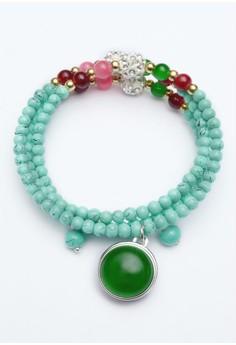 Pre-styled Adjustable Bead Bracelet