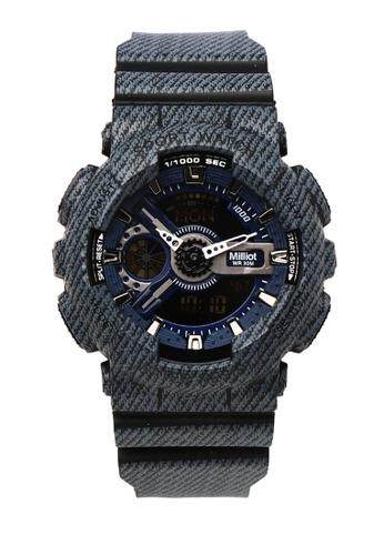 Milliot & Co. black Nora Watch FA8EBACA037595GS_1