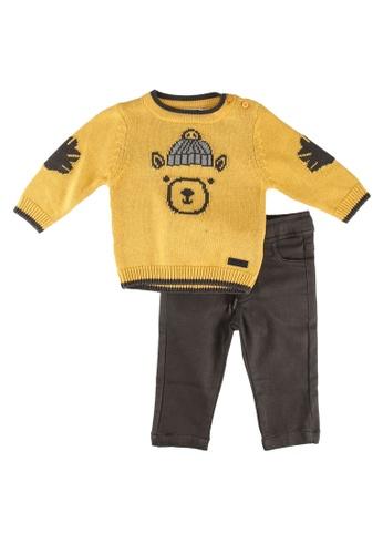 Babybol yellow Baby 2 Piece Set 2E007KA56A6934GS_1