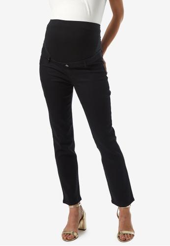 Dorothy Perkins black Maternity Black Over The Bump Ellis Slim Jeans 0D6F9AAD4AFF8CGS_1