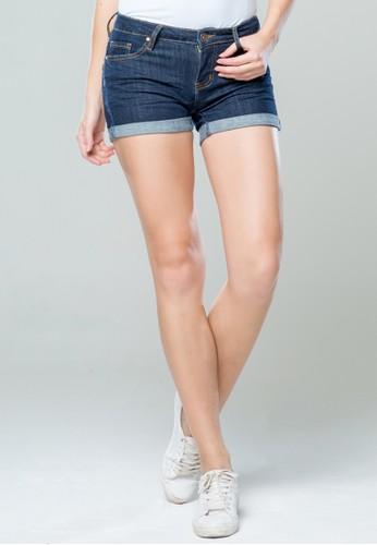 C2 Outfitters blue Ulfina Blue Short Pants 3BD35AA33E75C9GS_1