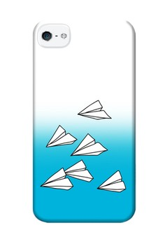 Paper Plane Hard Case for iPhone 4, iPhone 4s