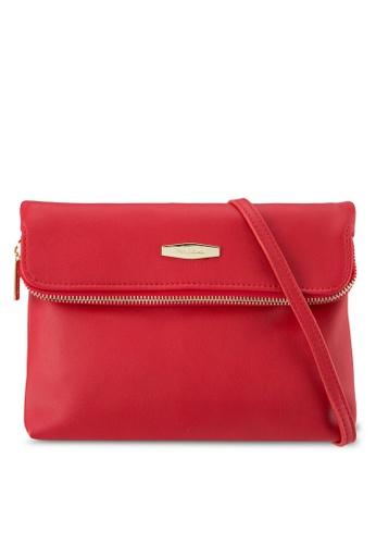 Perllini&Mel red Faux Leather Sling Bag PE444AC0SBLGMY_1