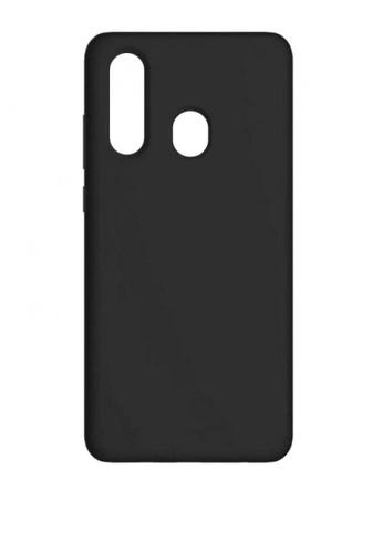 MobileHub black Samsung A30 Silicone Cover Soft Case Rubberized Finish 3B20DACB6E802BGS_1