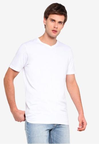 Slim V Neck T Shirt