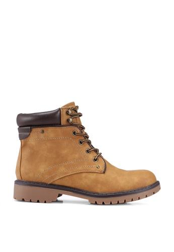 Call It Spring beige Sonney Derby Boots A6600SHF5DA228GS_1
