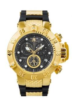90ed5def36b INVICTA black and gold Subaqua Men 50mm Stainless Steel Dial Quartz Watch  15799 F756CAC5788B8EGS 1