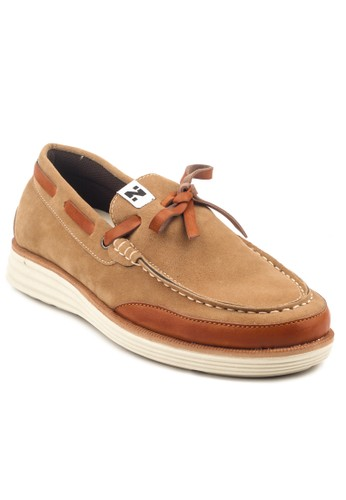 Navara brown Navara Videl Loafers Brown NA564SH43FZCID_1