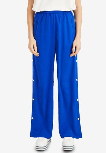 Hopeshow blue Loose Fit Track Pants DDA2FAA2316FB0GS_1