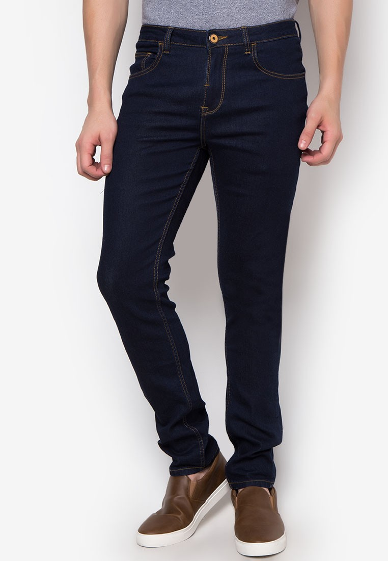 Mens 5-Pocket Basic Denim