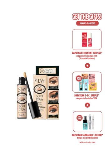 Benefit beige Benefit Stay Don't Stray Eyeshadow Primer A3025BE0E06DAEGS_1