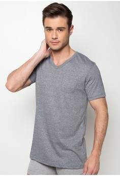 V-Neck Undershirt with Pocket