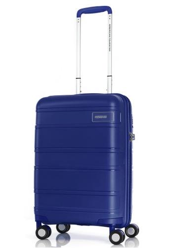 American Tourister blue American Tourister Litevlo Spinner 55/20 Tsa 0AAE6AC9D17F05GS_1