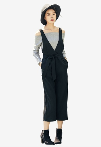 Kodz black Off Shoulder 2-Piece Jumpsuit A4F13AA979DD32GS_1