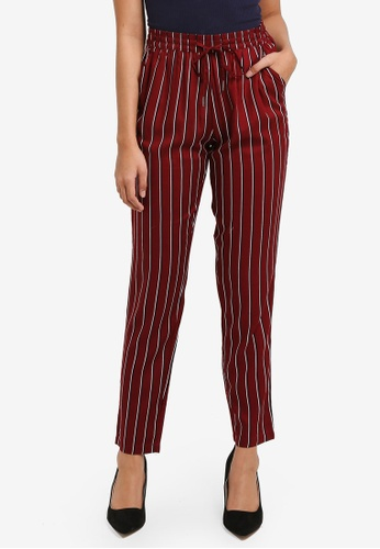 ONLY red Nova Pants 1A717AA3AFD533GS_1