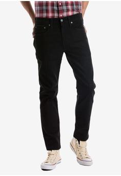 cf0b4d74727 Levi's black 502™ Men's Regular Taper Fit Jeans 954F0AAF890979GS_1