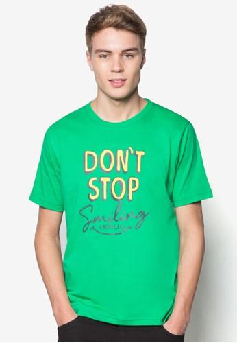 文字設計短袖TEEesprit門市, 服飾, T恤