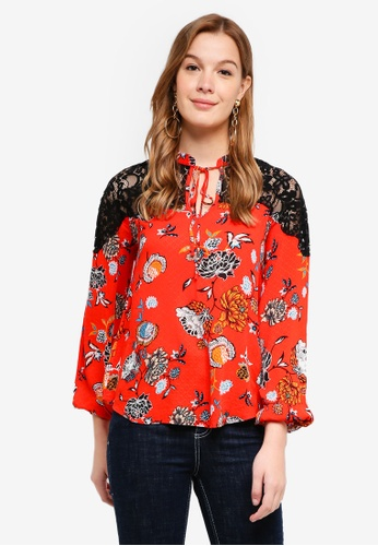 Desigual red Ketty Blouse CCA8FAA366D17BGS_1
