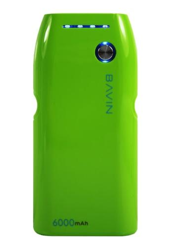 BAVIN green PC235 6000mAh Power Bank 2CECFAC36FFC15GS_1