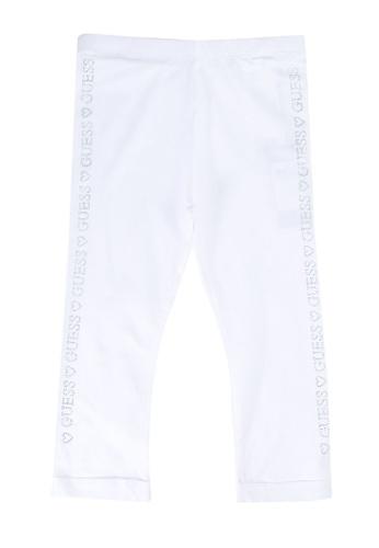 Guess white Side Brand Leggings A913DKA3EA01CAGS_1