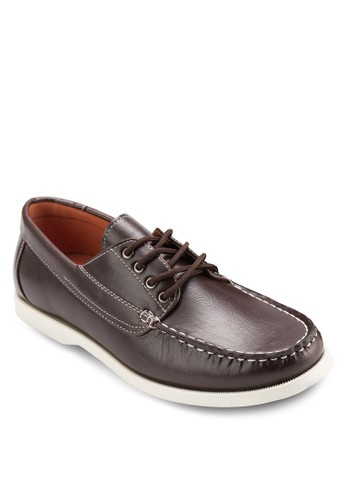 正式感繫帶船型鞋,zalora退貨 鞋, 鞋