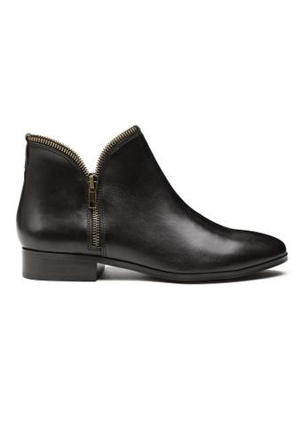 Byford black Yelverton Ankle Boots FC217SHC6309F3GS_1
