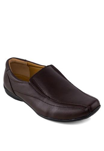 懶esprit 會員卡人休閒皮鞋, 鞋, 船型鞋
