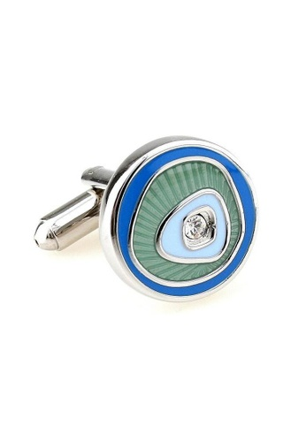 The Little Link Cufflinks blue Eye of the Storm cufflinks TH089AC0FT73SG_1