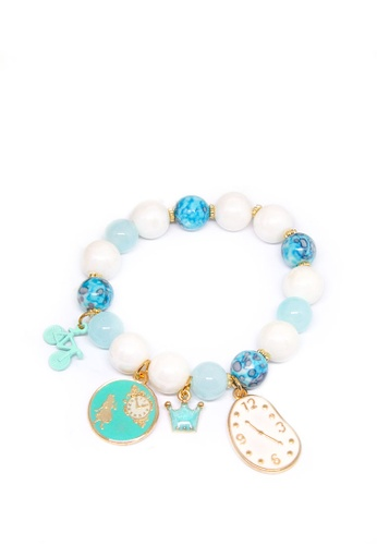 ASLLY green and gold Alice's Adventures in Wonderland│Tiffany Green Beaded Bracelet 56497AC354469EGS_1