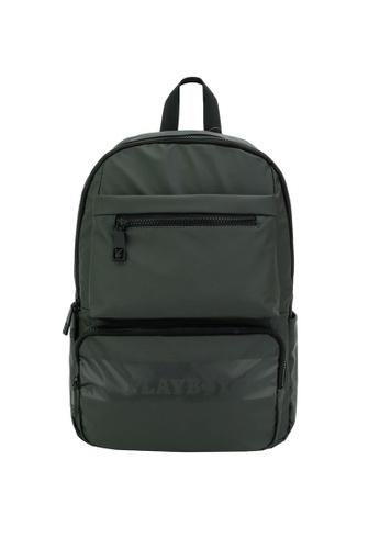 Playboy green Backpack 72DB9ACB2510D6GS_1