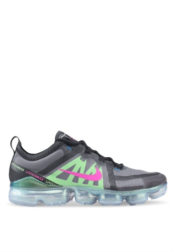 Nike black and multi Air Vapormax 2019 Prm Shoes 3A2ADSH8CCB836GS_1