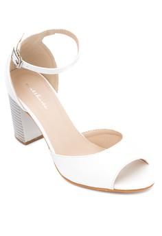 Ivory Heel Sandals