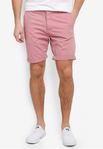 Cotton On pink Washed Chino Shorts CA3E6AA93A821EGS_1