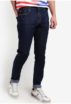 【ZALORA】 簡約修身牛仔褲