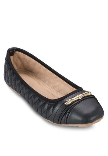 閃飾方頭esprit台灣網頁平底鞋, 女鞋, 鞋