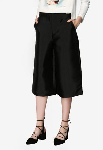 Hopeshow black Culotte Pants EE535AABDDFBBCGS_1