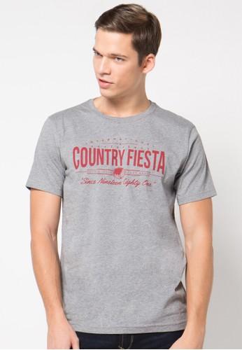 Country Fiesta grey Tshirt Short Fashion CO129AA40RATID_1