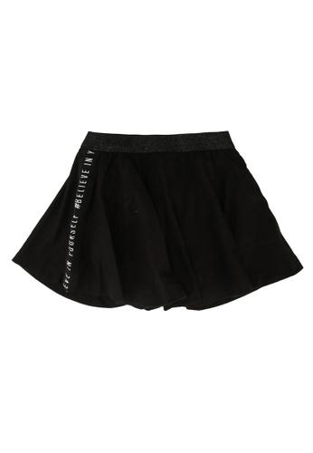 FOX Kids & Baby black Baby Girl Shimmer Skater Skirt 7E63FKABB665E7GS_1