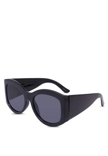 Mango black Acetate Frame Sunglasses BE2B4GLDF021BEGS_1