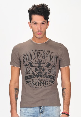 SJO & SIMPAPLY brown SPP Panquera Light Brown Men's Shirt D5F7EAA42DC514GS_1