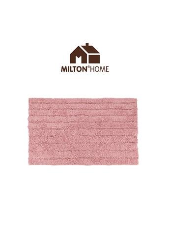 Milton Home SET OF 3 Milton Home Ripple Tufted Bath Mat with Anti Slip coating 40 x 60cm / 336g 8DD7EHLDBC7583GS_1