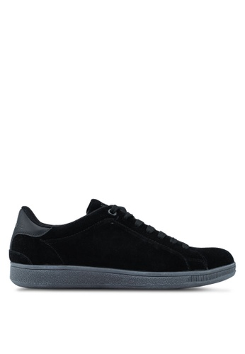 Superdry black Sleek Tennis Low Premium 01A70SH96AD1C5GS_1